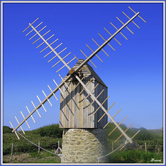 Moulin de Karaes (Île d'Ouessant)