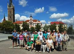 Esperantistoj en la urbo Čáslav