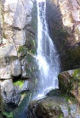 Höchster natürlicher Wasserfall der Sächsischen Schweiz