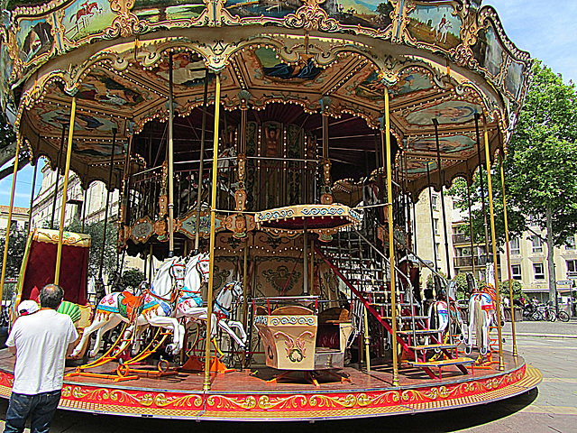 Vieux carrousel