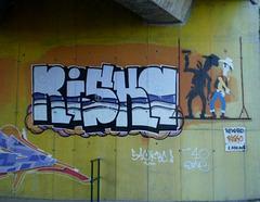 Lucky Luke painting wall.