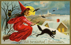 Halloween—A Witch Out for Mischief