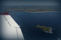 Île de Balanec de l'archipel de Molène en mer d'Iroise