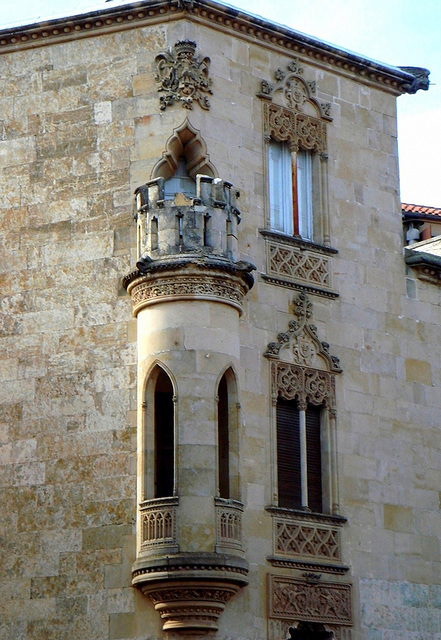 The graciousness of the neo-Gothic house of the Marquise de Cartago