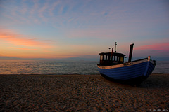 abends am Strand bei Heringsdorf (© Buelipix)