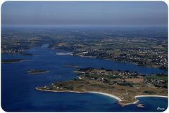Presqu'île de St Laurent proche Porspoder (Finistère)