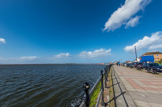 West Kirby prom and the lake