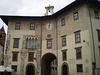 Clock Palace and Gualandi Arch.