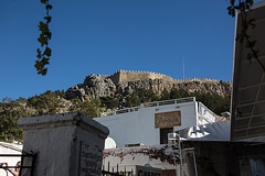 20151203 9597VRAw [R~GR] Johanniter Burg, Altstadt, Lindos, Rhodos