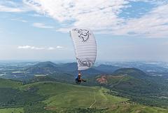 Parapente en Auvergne