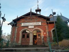 Bergstation der Dresdner Standseilbahn