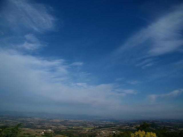 Ciel d'Ardèche en été...