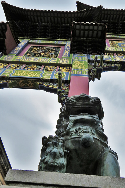 china town, liverpool