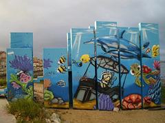 Amora street art.
