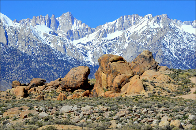 view from Alabama Hills