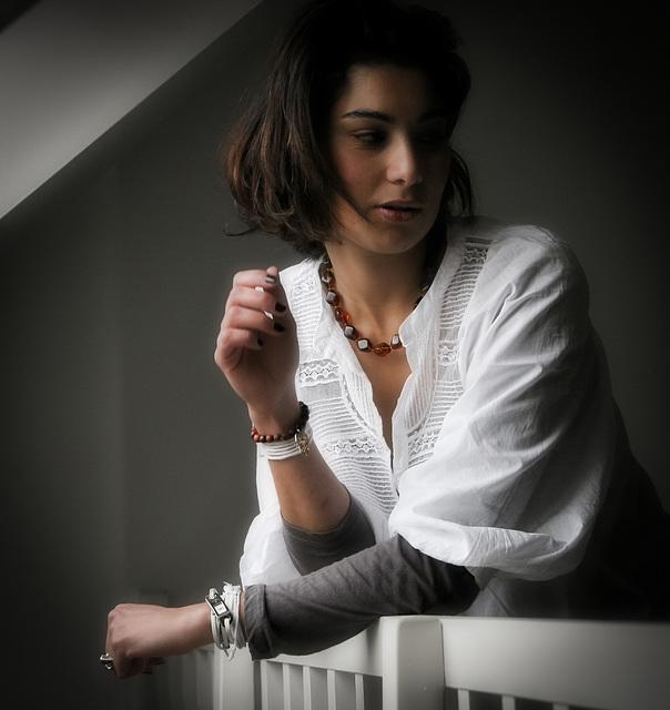la beauté d'Amal en couleur