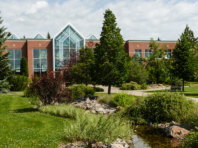Olds College Botanic Gardens and Wetlands
