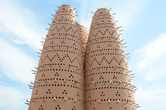 Qatar, Pigeon Towers in Doha