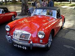 MG A (1958).