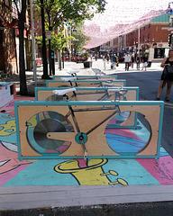 Musical bikes