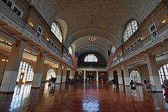 Ellis Island - Einwanderungshalle