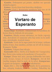 Kabe, Vortaro, 1910
