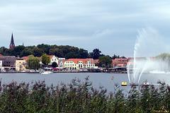 Malchow: Blick auf die Drehbrücke (2*PiP)
