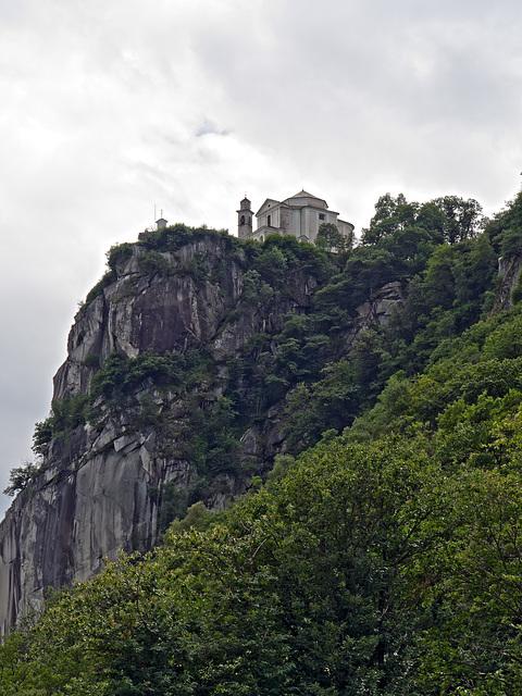 The Sanctuary of the Madonna del Sasso
