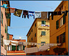 Boccadasse : Il centro storico espone la sua biancheria - (894)