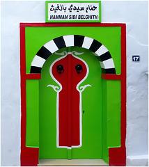Hammamet : Con questa 'porta' nella Médina concludo l'album dedicato a questa bella città tunisina
