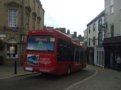 DSCF1410 Shaun's Minibuses (Shaun McGowan) LK58 LTY in Ripon  - 29 Aug 2015