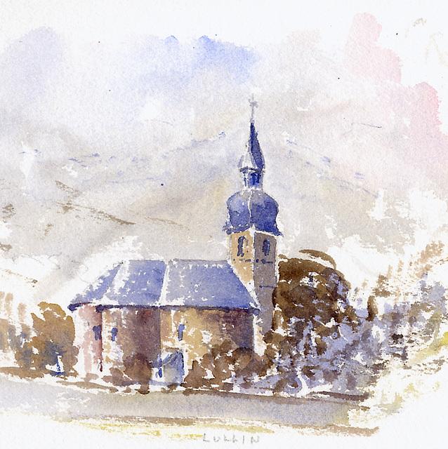 Lullin,  Haute-Savoie (18 x 18 cm)