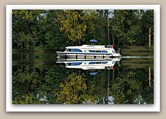 Boating on the Saône