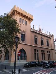 Valencia: palacio de la Exposición, 1