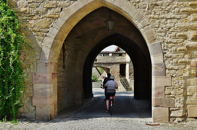 Das Mainbernheimer Tor in Iphofen
