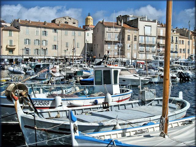 Saint-Tropez (83) Avril 2008.