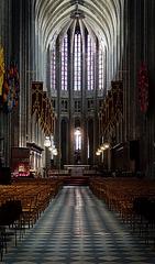 Nef, Cathédrale Sainte-Croix d'Orléans