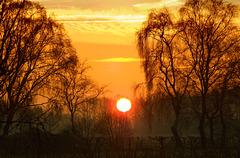 DSCF0140 Sunrise Olden Eibergen