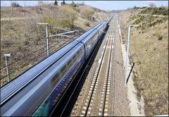Saint-Georges d'Espéranche (38) 14 mars 2013. (flashé à plus de 130 km/h!!!)