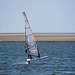 A windsurfer at West Kirby