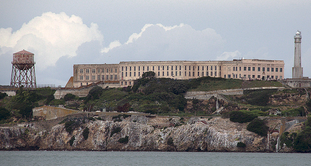 Alcatraz Main Detention Block