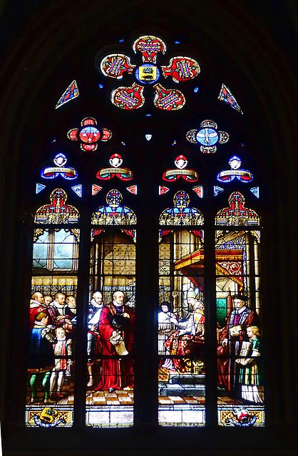 Vitrail, Cathédrale Sainte-Croix d'Orléans