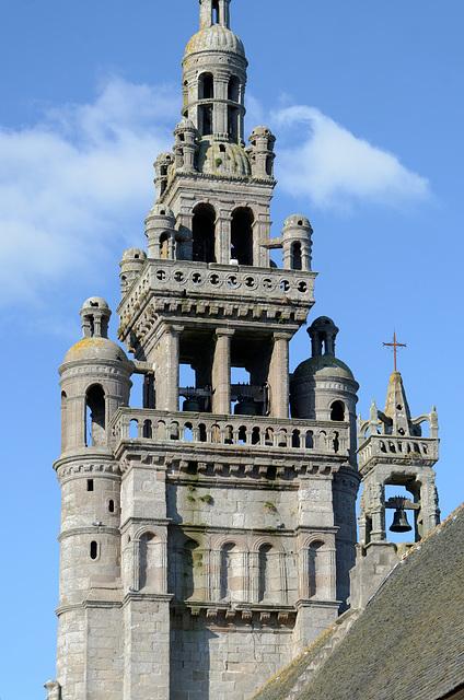 Le clocher Renaissance bretonne