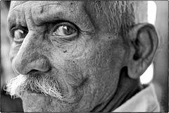 Portrait indien à Ahmadabad
