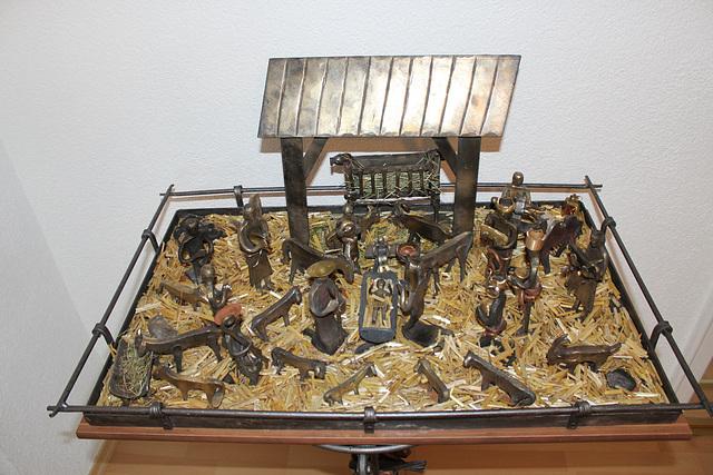 Eisenkrippe von Josef Wühr