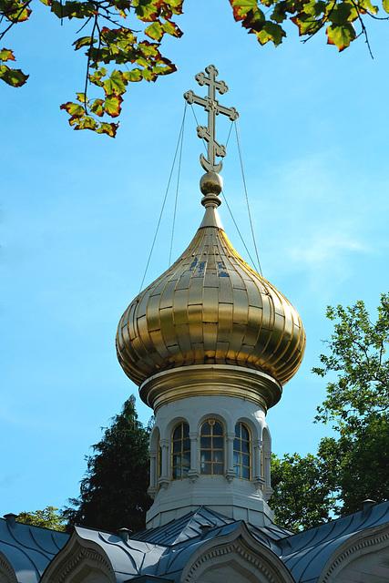 Kuppel von der Russischen Kirche Baden-Baden