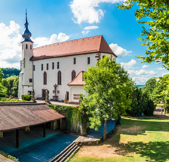 Das Tempelhaus in Neckarelz (300°)