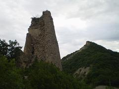 Ruins of Ujarma Fortress.
