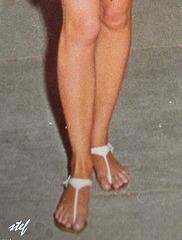 Mon amie Stefani le 11 juin 1966......
