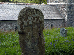 St Juliot Church - Ancient Cornish wayside cross